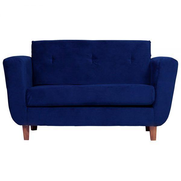 Living Agora Sofa 2 Cuerpos Sillones Azul 2