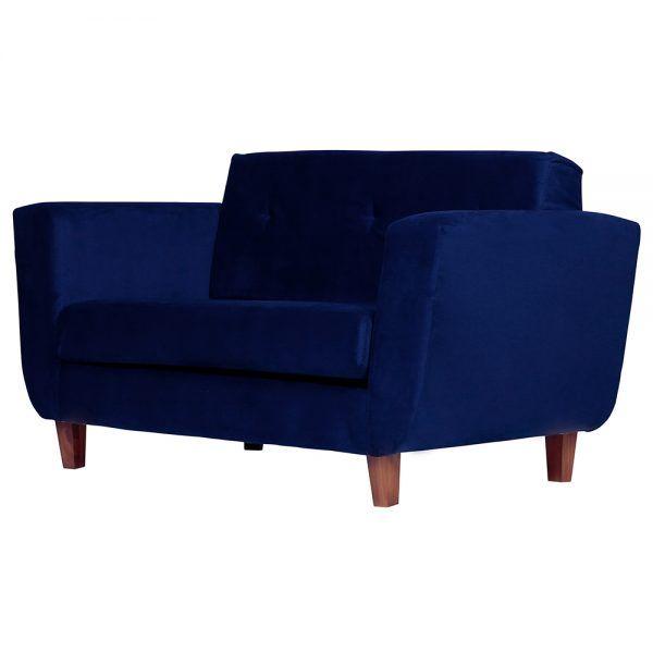 Living Agora Sofa 2 Cuerpos Sillones Azul 3