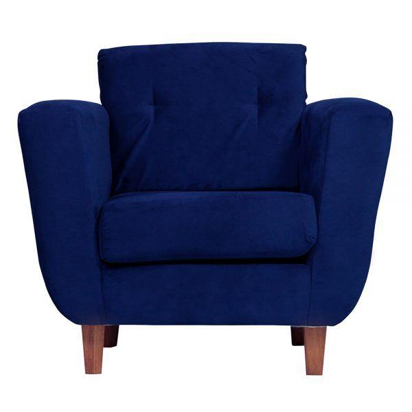 Living Agora Sofa 2 Cuerpos Sillones Azul 5