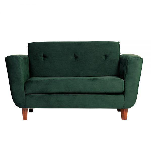 Living Agora Sofa 2 Cuerpos Sillones Verde 2