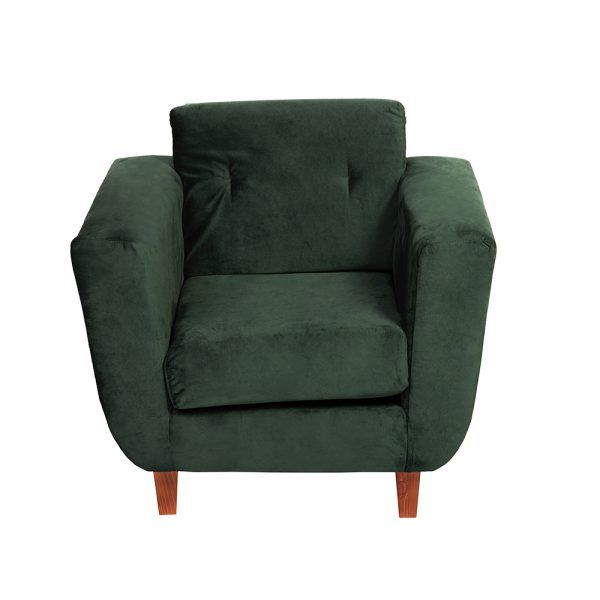 Living Agora Sofa 2 Cuerpos Sillones Verde 6