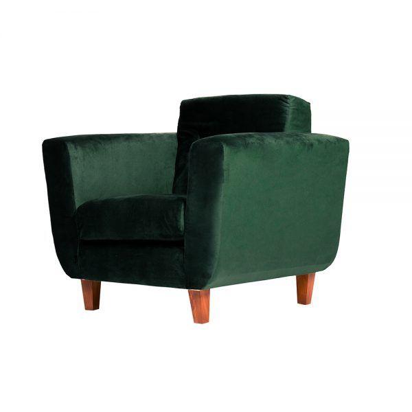 Living Agora Sofa 2 Cuerpos Sillones Verde 7