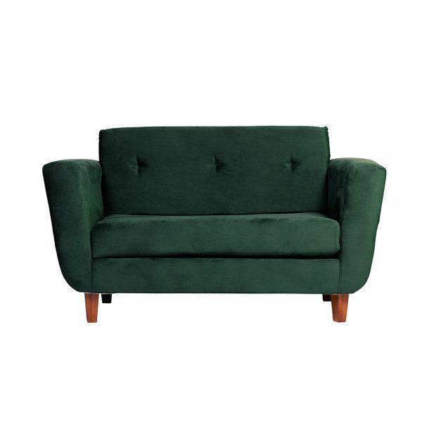 Living Agora Sofa 2 Cuerpos Sitiales Verde 2