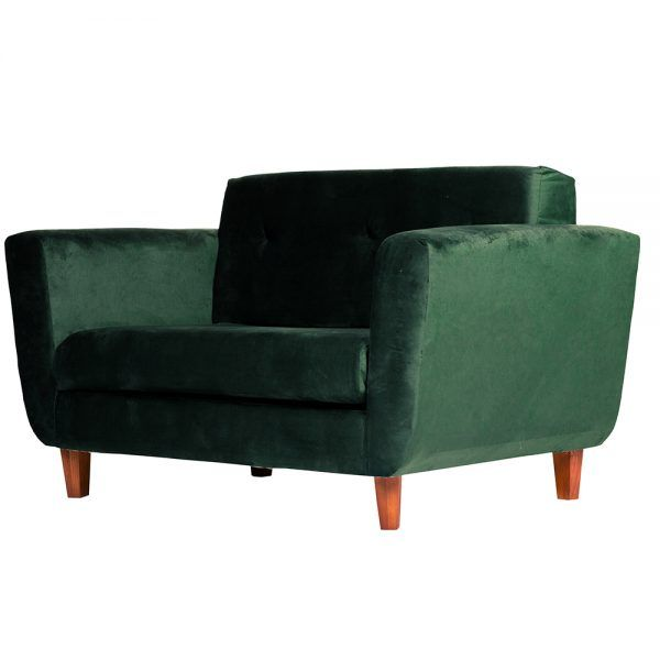 Living Agora Sofa 2 Cuerpos Sitiales Verde 4