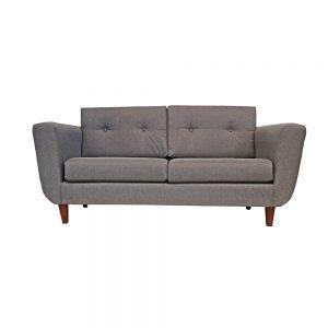 Living Agora Sofa 3 Cuerpos 2 Sillones Gris 2