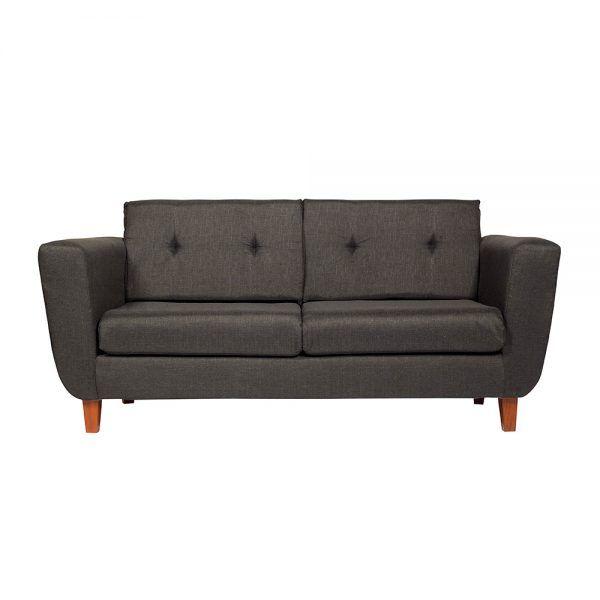Living Agora Sofa 3 Cuerpos 2 Sillones Gris Oscuro 2