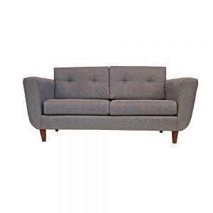 Living Agora Sofa 3 Cuerpos 2 Sitiales Gris 2