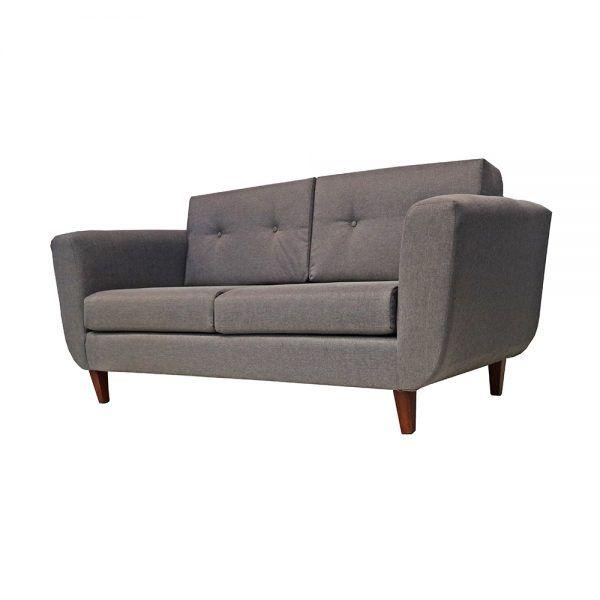 Living Agora Sofa 3 Cuerpos 2 Sitiales Gris 3