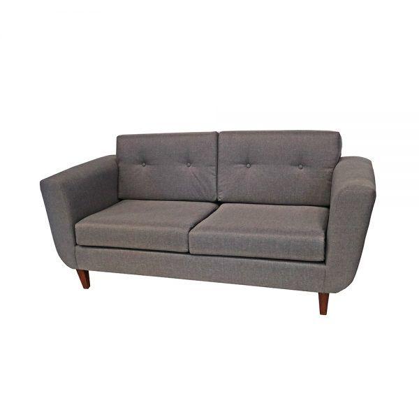 Living Agora Sofa 3 Cuerpos 2 Sitiales Gris 4