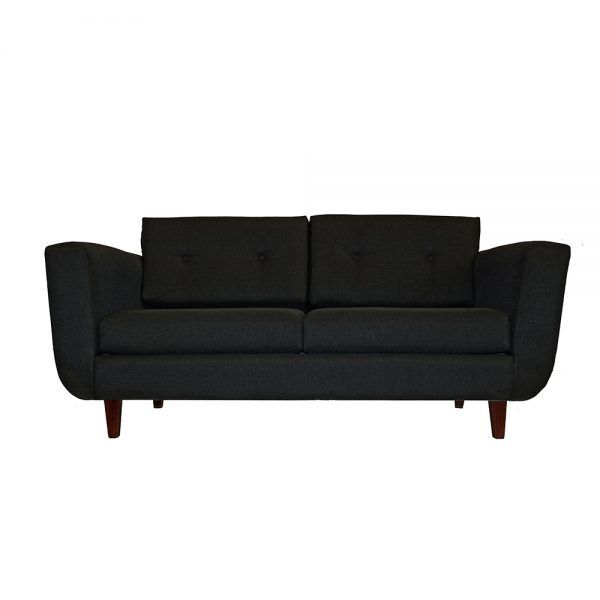 Living Agora Sofa 3 Cuerpos 2 Sitiales Gris Oscuro 2