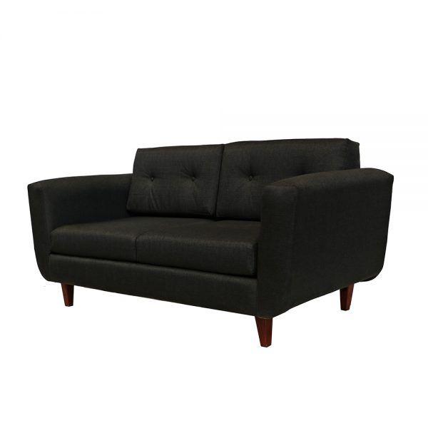 Living Agora Sofa 3 Cuerpos 2 Sitiales Gris Oscuro 3