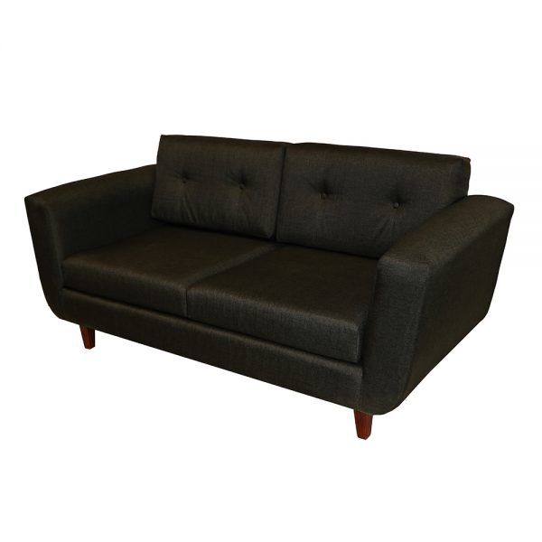 Living Agora Sofa 3 Cuerpos 2 Sitiales Gris Oscuro 4