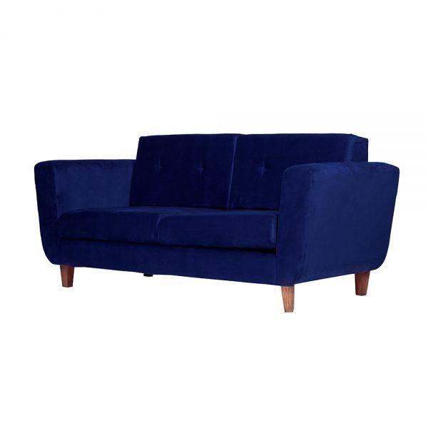Living Agora Sofa 3 Cuerpos Sillones Azul 3
