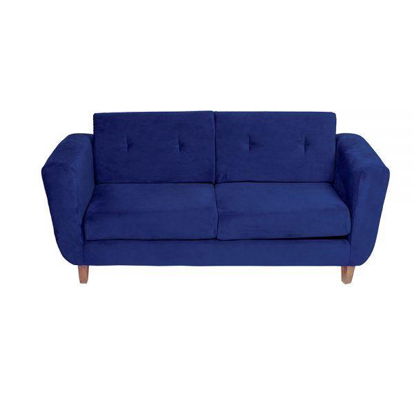 Living Agora Sofa 3 Cuerpos Sillones Azul 4