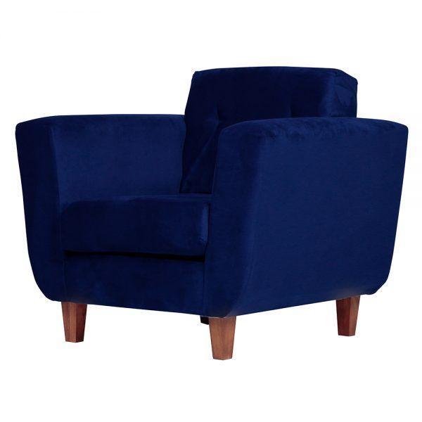 Living Agora Sofa 3 Cuerpos Sillones Azul 6