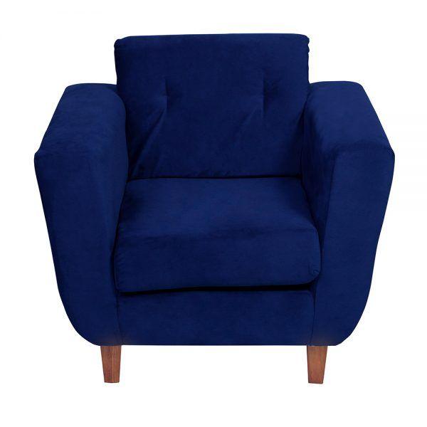 Living Agora Sofa 3 Cuerpos Sillones Azul 7