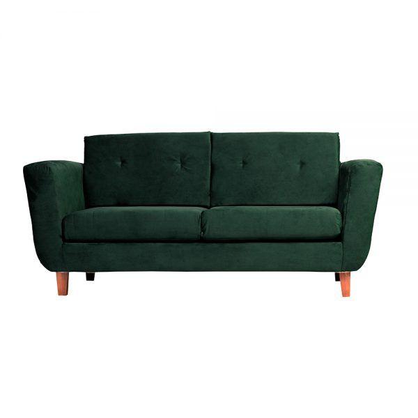 Living Agora Sofa 3 Cuerpos Sillones Verde 2