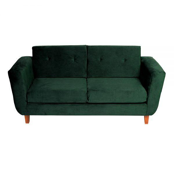 Living Agora Sofa 3 Cuerpos Sillones Verde 3