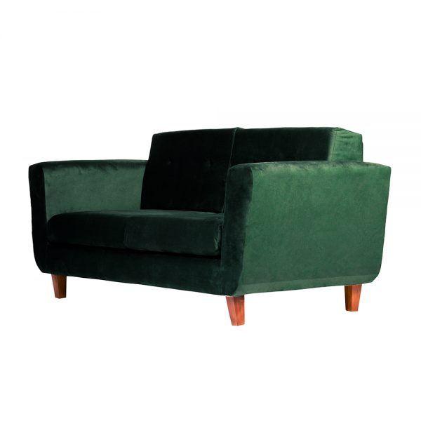 Living Agora Sofa 3 Cuerpos Sillones Verde 4