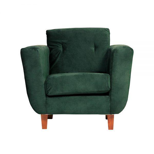 Living Agora Sofa 3 Cuerpos Sillones Verde 5