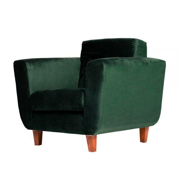 Living Agora Sofa 3 Cuerpos Sillones Verde 7