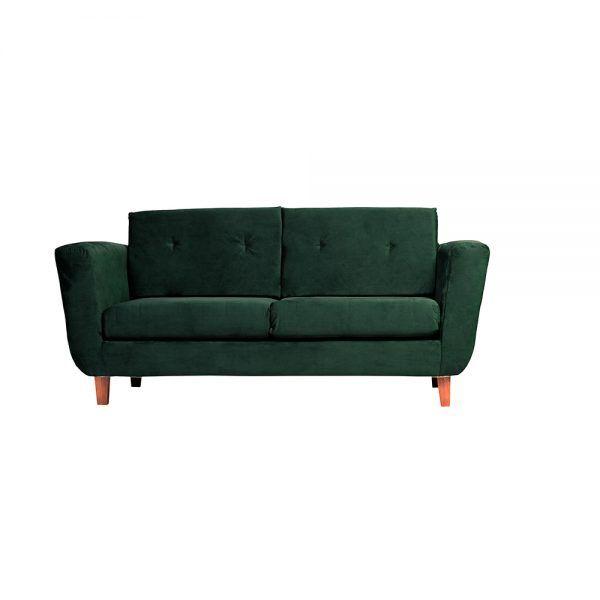 Living Agora Sofa 3 Cuerpos Sitiales Verde 2