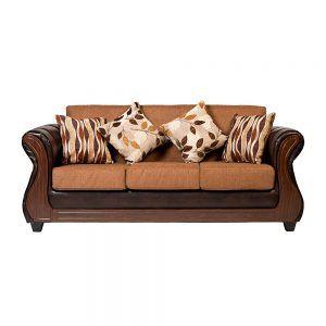Living Albury Sofa 3 Cuerpos 2 Sillones Cafe 2