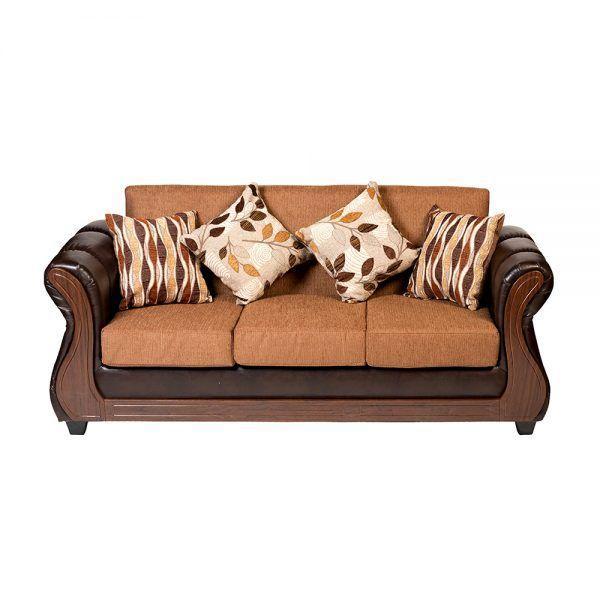 Living Albury Sofa 3 Cuerpos 2 Sillones Cafe 3