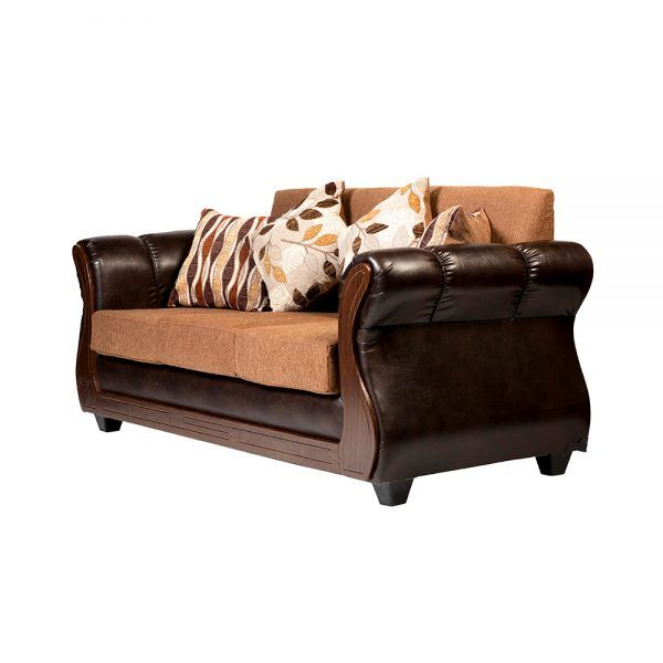 Living Albury Sofa 3 Cuerpos 2 Sillones Cafe 4