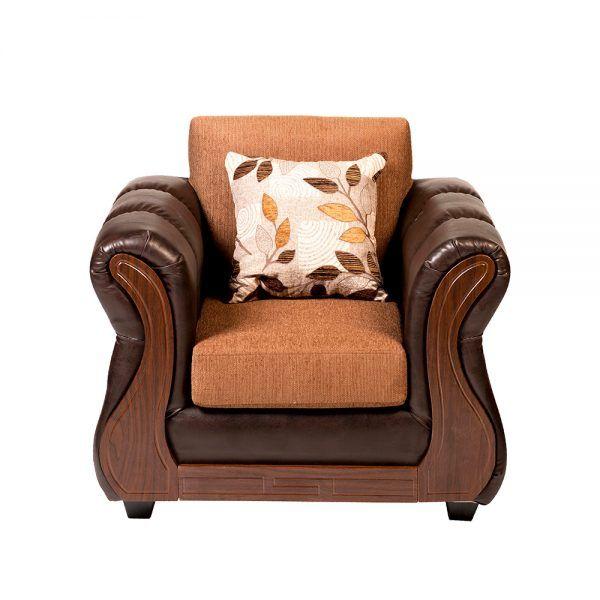 Living Albury Sofa 3 Cuerpos 2 Sillones Cafe 6