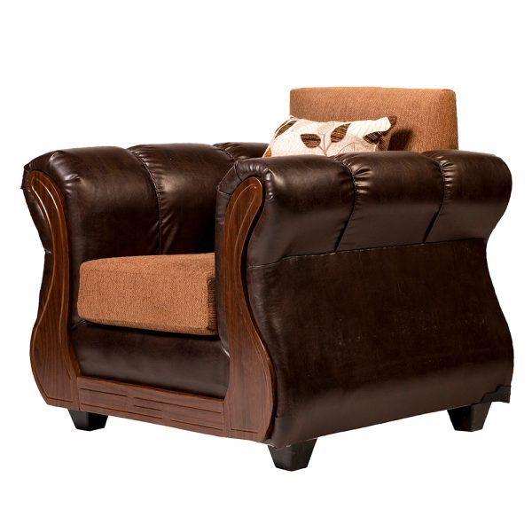 Living Albury Sofa 3 Cuerpos 2 Sillones Cafe 7