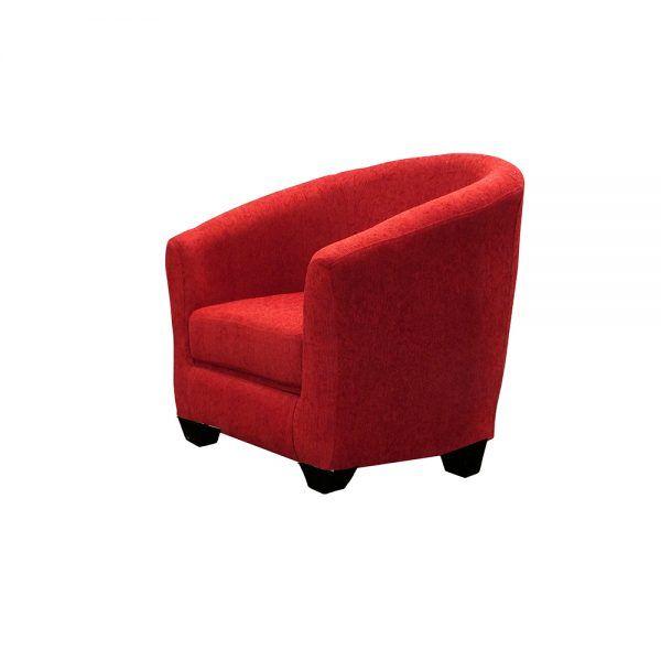 Living Bertolucci Sofa 2 Cuerpos 2 Butacas Rojo 5