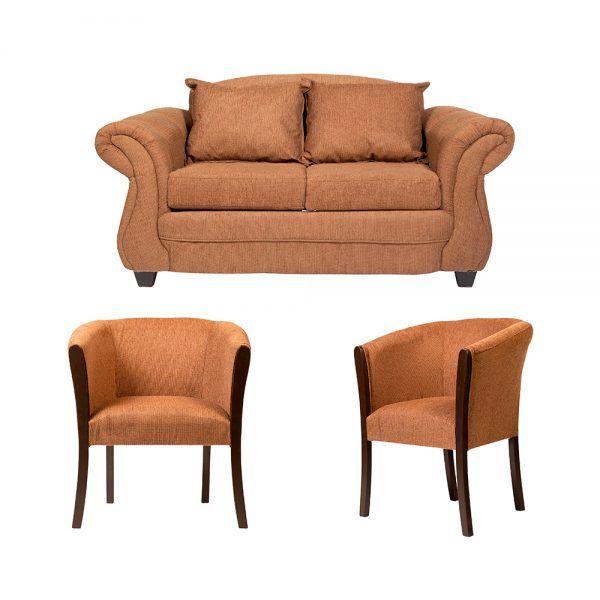 Living Bertolucci Sofa 2 Cuerpos 2 Poltronas Cafe 1