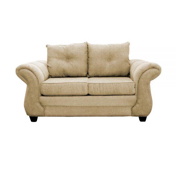 Living Bertolucci Sofa 2 Cuerpos 2 Pouf Beige 2
