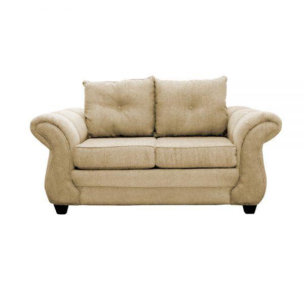 Living Bertolucci Sofa 2 Cuerpos 2 Sillones Beige 2
