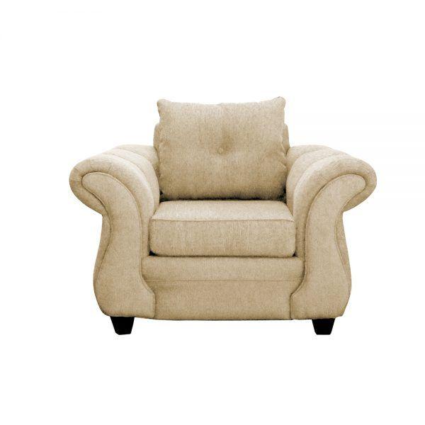 Living Bertolucci Sofa 2 Cuerpos 2 Sillones Beige 4