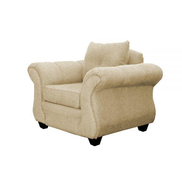 Living Bertolucci Sofa 2 Cuerpos 2 Sillones Beige 5