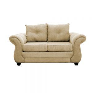 Living Bertolucci Sofa 2 Cuerpos 2 Sitiales Beige 2