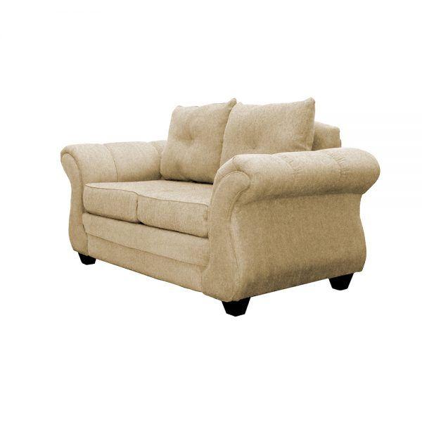 Living Bertolucci Sofa 2 Cuerpos 2 Sitiales Beige 3