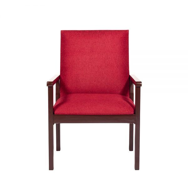 Living Bertolucci Sofa 2 Cuerpos 2 Sitiales Rojo 5