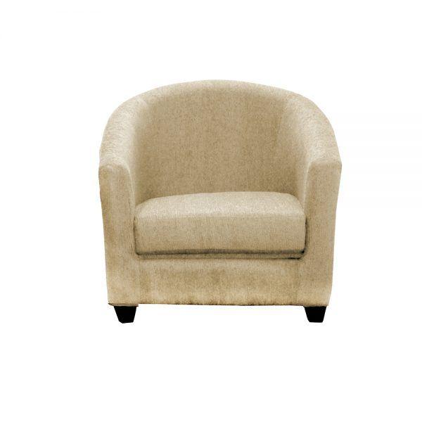 Living Bertolucci Sofa 3 Cuerpos 2 Butacas Beige 3