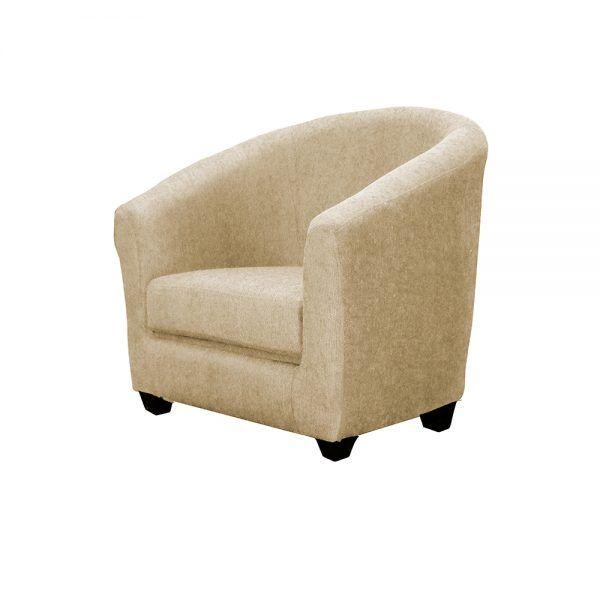 Living Bertolucci Sofa 3 Cuerpos 2 Butacas Beige 4