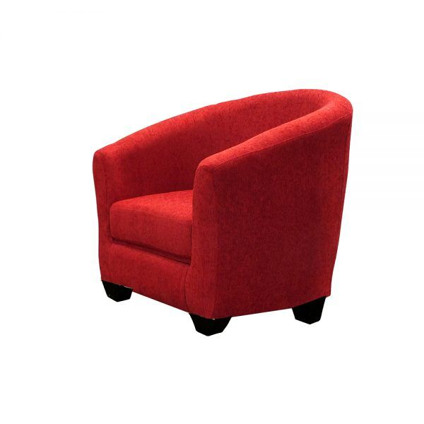 Living Bertolucci Sofa 3 Cuerpos 2 Butacas Rojo 4
