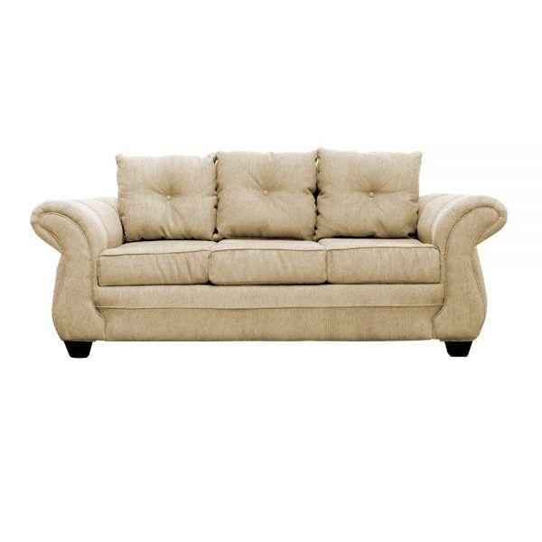 Living Bertolucci Sofa 3 Cuerpos 2 Poltronas Beige 2