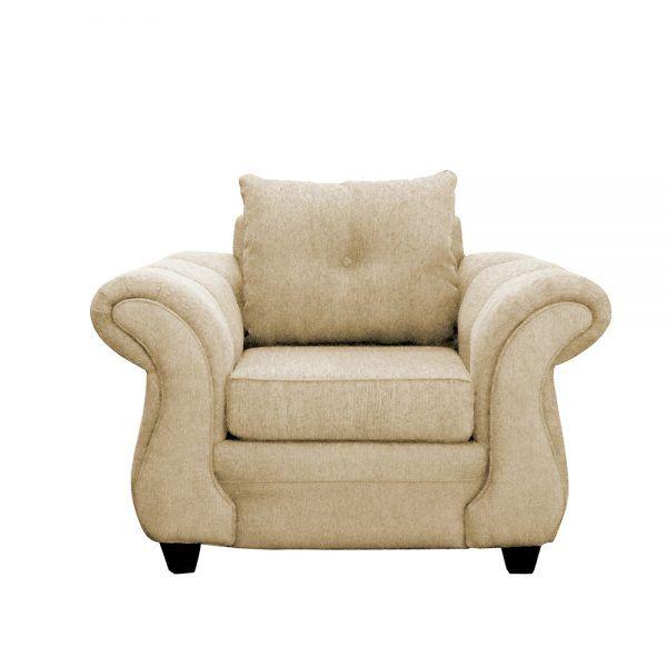 Living Bertolucci Sofa 3 Cuerpos 2 Sillones Beige 3