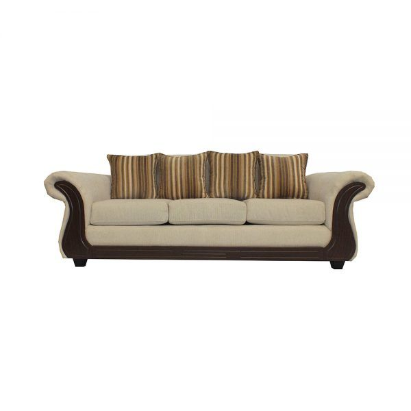 Living Candy Sofa 3 Cuerpos 2 Sitiales Beige 2