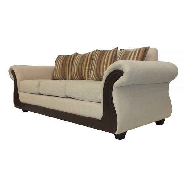 Living Candy Sofa 3 Cuerpos 2 Sitiales Beige 3