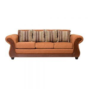 Living Candy Sofa 3 Cuerpos 2 Sitiales Cafe 2