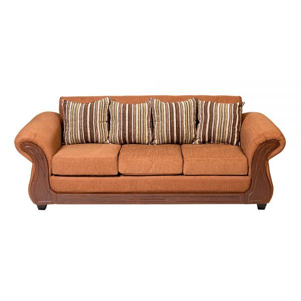 Living Candy Sofa 3 Cuerpos 2 Sitiales Cafe 3