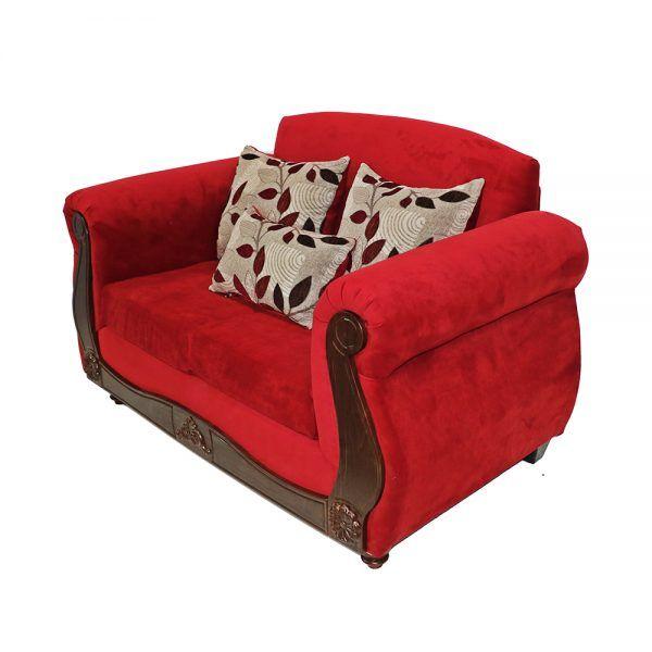 Living Ciudatella Sofa 2 Cuerpos 2 Sillones Rojo 3